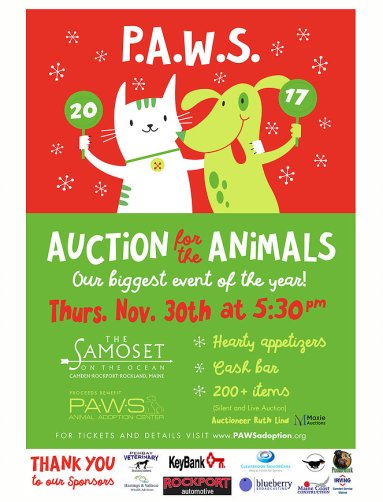 P.A.W.S Auction for the Animals