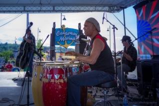 Maine Blues Festival - Blue Steel Express 2015